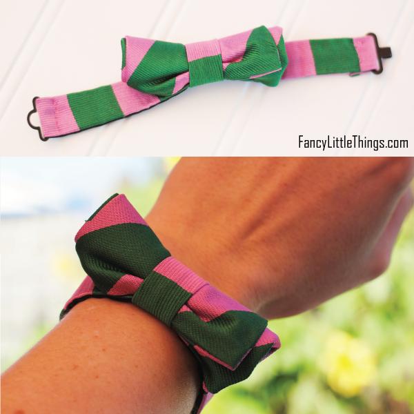 Bow Tie Bracelet Diy my Next Bow Tie Bracelet
