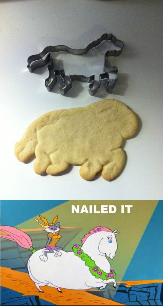 sugar cookie horse