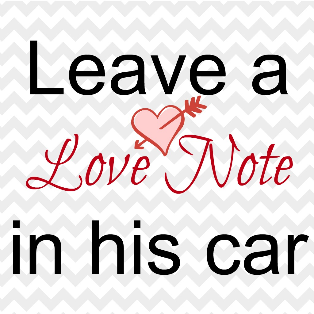 Write Your Husband A Love Note