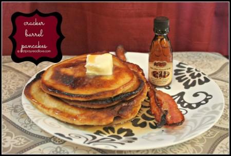 cracker barrell pancakes