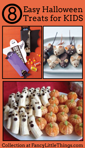 8 easy halloween treats for kids for Easy halloween treats for work party